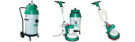 All-metal industrial vacuum cleaners