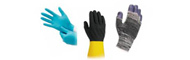 Protective working gloves