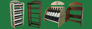 Wood wine racks